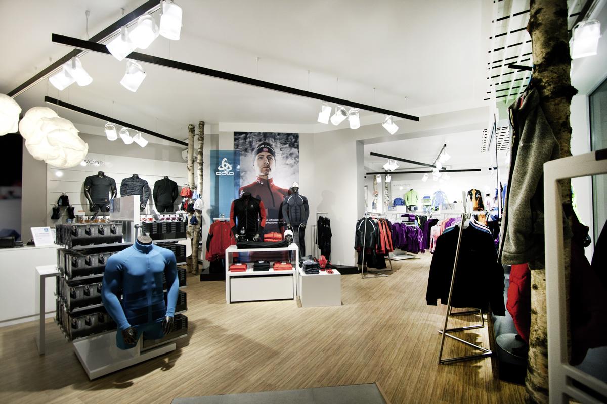 Laborrotwang Berlin Odlo Store Oslo Norway