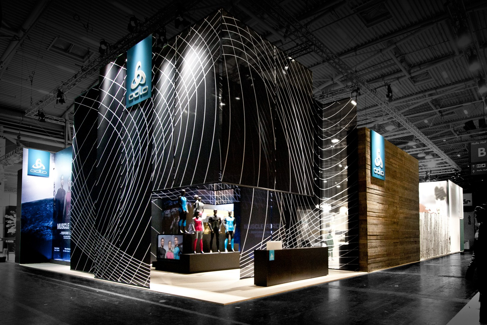 Laborrotwang berlin odlo at ispo 2013 for Design hotel chiemsee